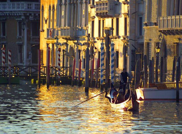 Canale Grande Venezia Italia