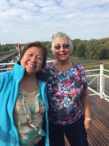 Carol & I on Canal