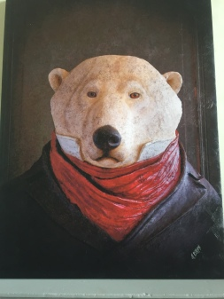 Bear at Ancy-le-Franc